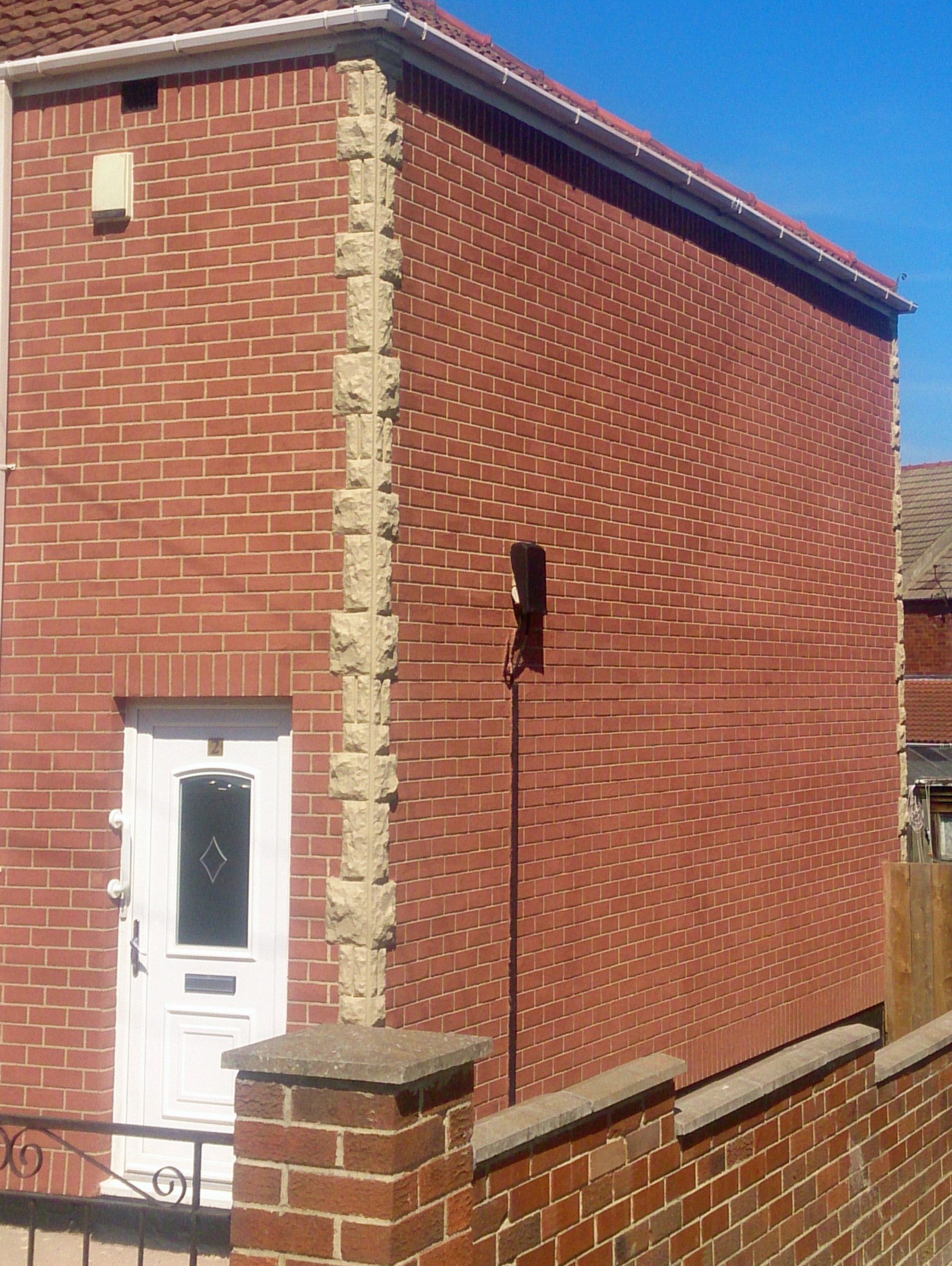 No1 Render Systems | Brick Effect Rendering